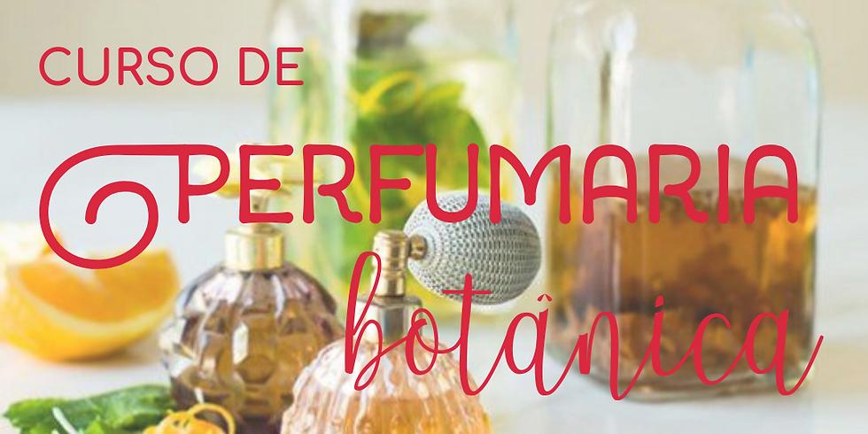 Curso Presencial de Perfumaria Botânica