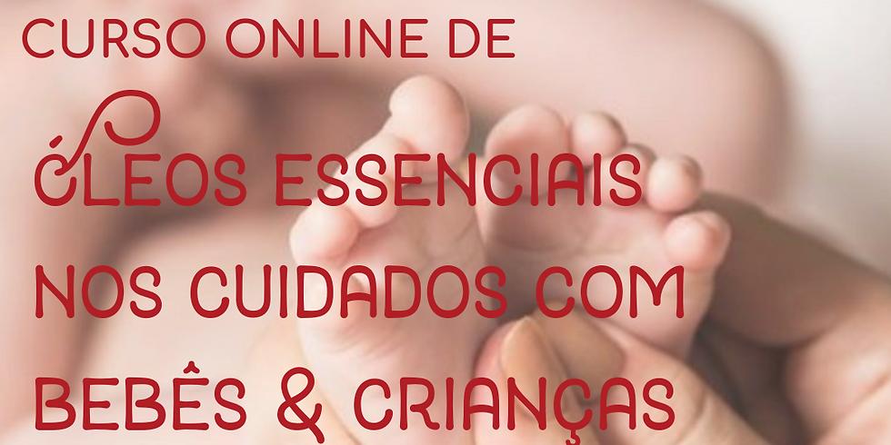 Curso Online de Óleos Essenciais nos Cuidados com Bebês e Crianças