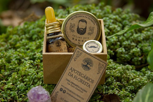 Kit Barbárvore - Cuidados para Barba