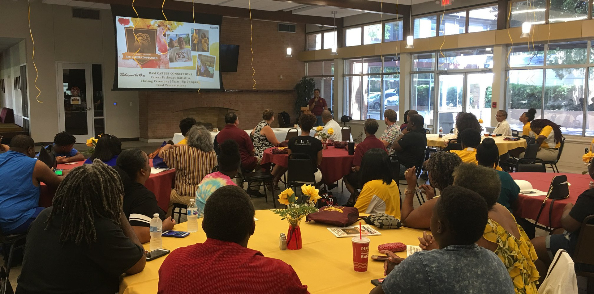 Career Pathways Initiative Pitch Event at Huston-Tillotson University