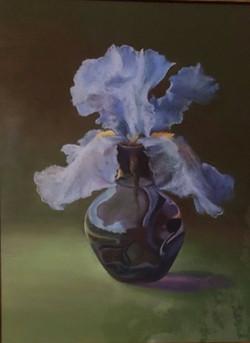 Blue Flower no Frame