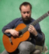 Neil Hesse, Guitar Instructor, playing guitar