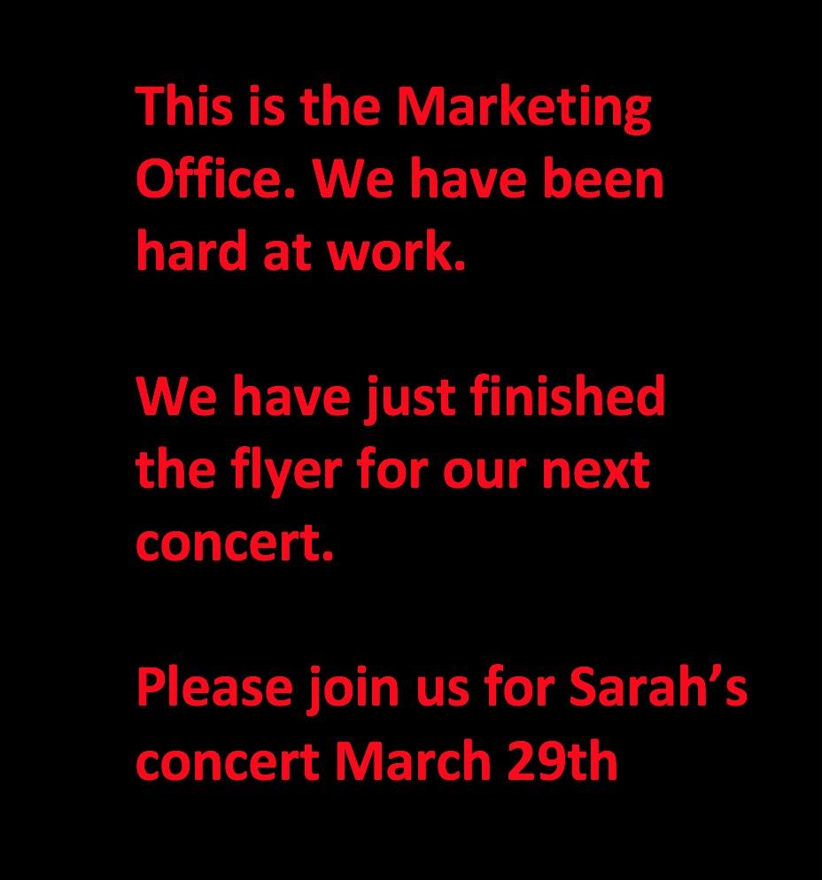 Marketing Room New Blurb