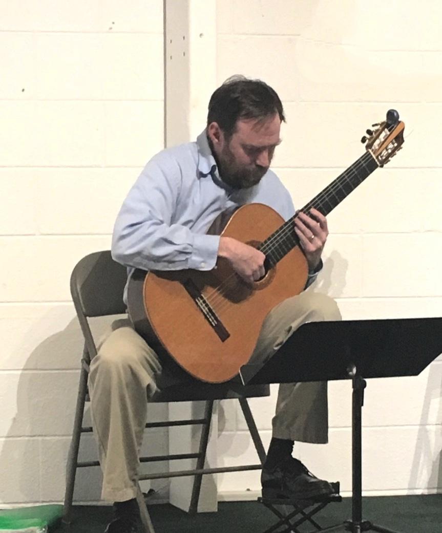 Adult Guitar Student