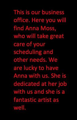 Screen Shot Anna's Words