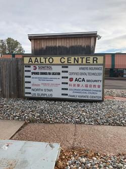 Aalto sign