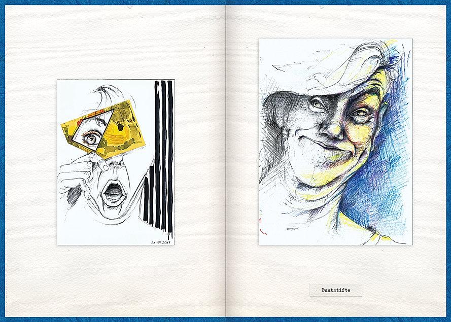 LilyaBie-Portrait-Book-color-pencil-drawing