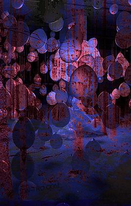 Balloon digital illustration by LilyaBie