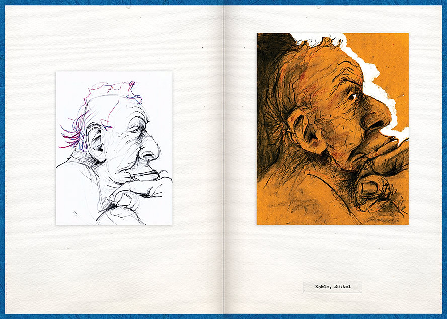 LilyaBie-Portrait-Book-red-chalk-coal