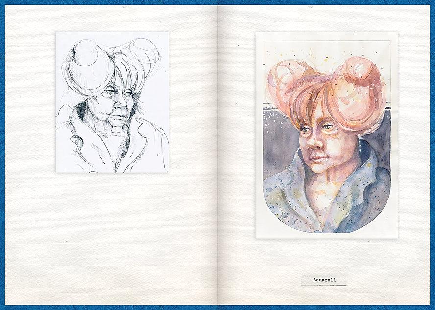 LilyaBie-Portrait-Book-watercolor-painting