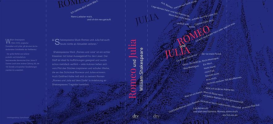 Book cover design Romeo und Julia by LilyaBie