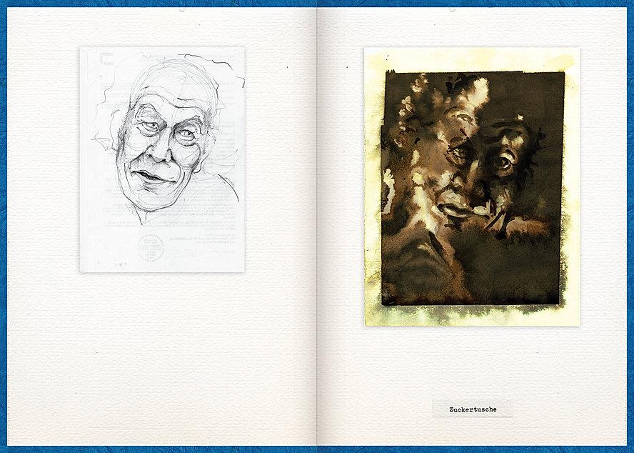 LilyaBie-Portrait-Book-sugar-ink-technique