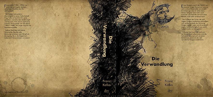 Book cover design The Metamorphosis by LilyaBie