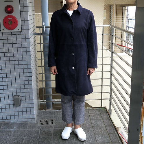 SM10 銀座nobunoza オリジナル革製レディースショートコート
