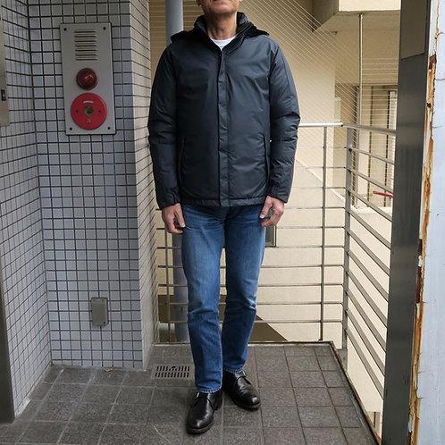 SM13 フード付きダウンジャケット