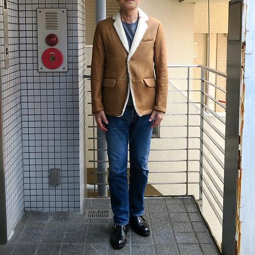SM19 高級ムートン素材のジャケット