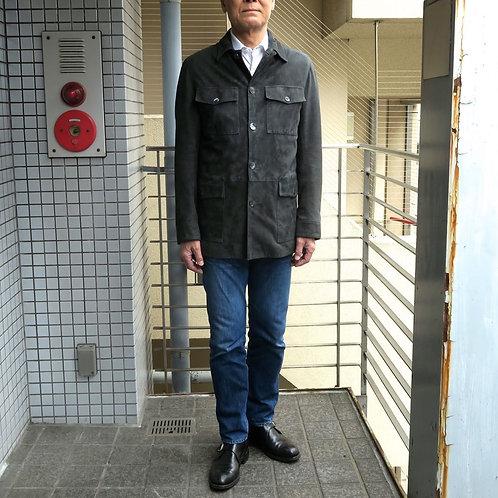 SM03 革製サファリジャケット