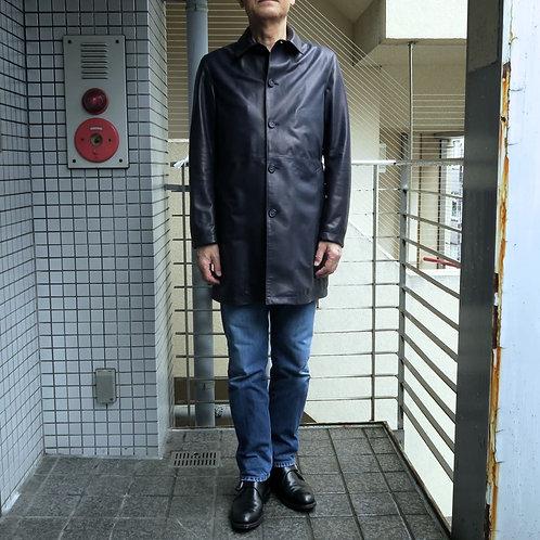 SM09 銀座nobunoza オリジナル革製ショートコート