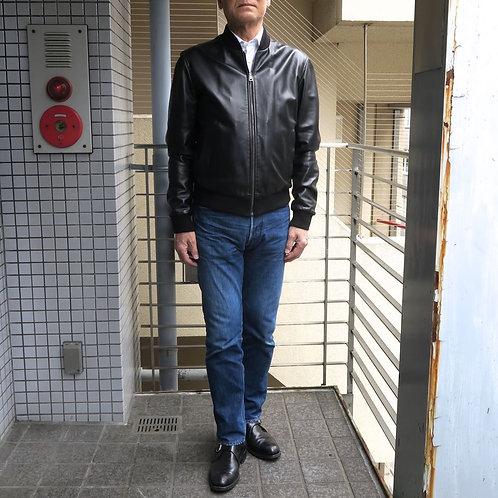 SM01 革製ボンバージャケット