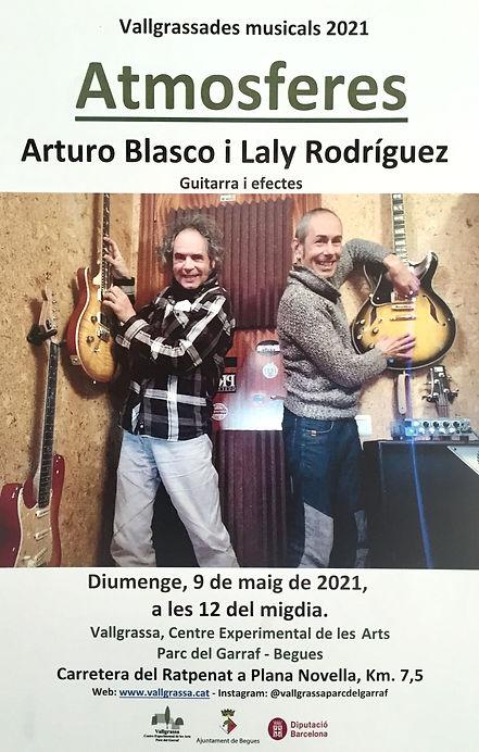 Cartell Arturo Blasco i Laly Rodriguez.j