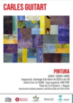 Cartell Un Pont d'Art Vigent-Carles Guit
