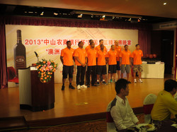 Welcome Dinner in Zhongshan - Team Power Canada Introduction