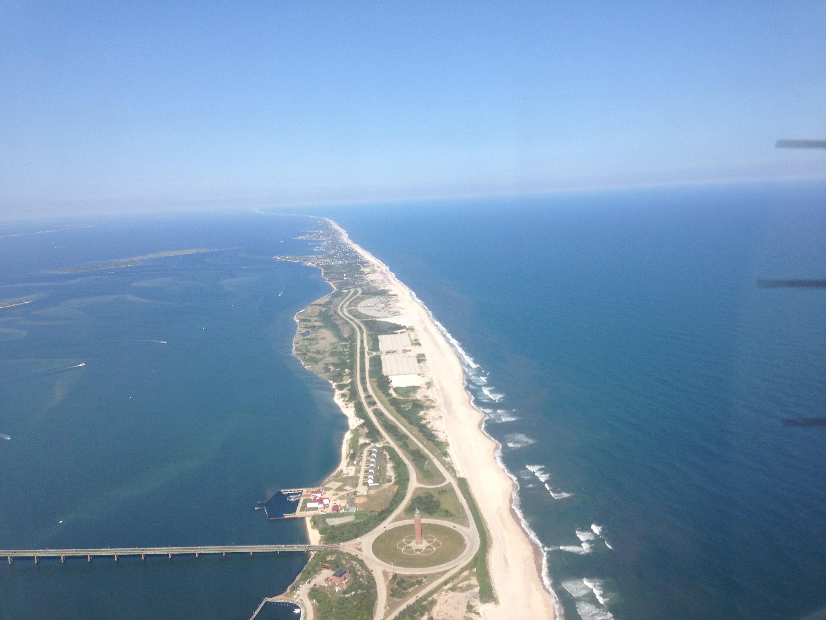 Robert Moses from 1500 feet