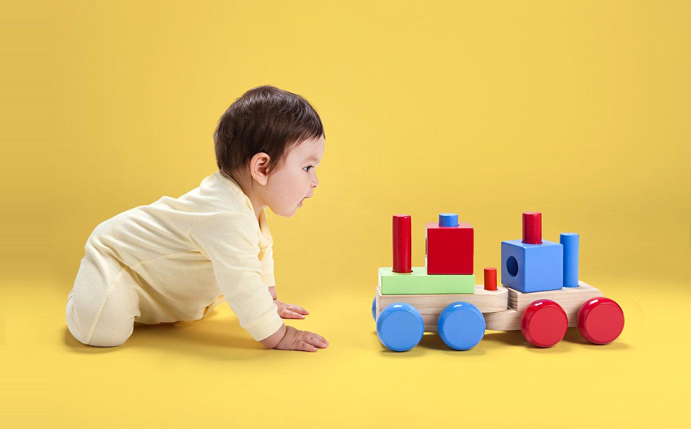 Drewniane zabawki dla dzieci z
