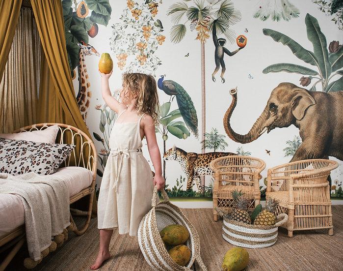 Eden Rattan Bed