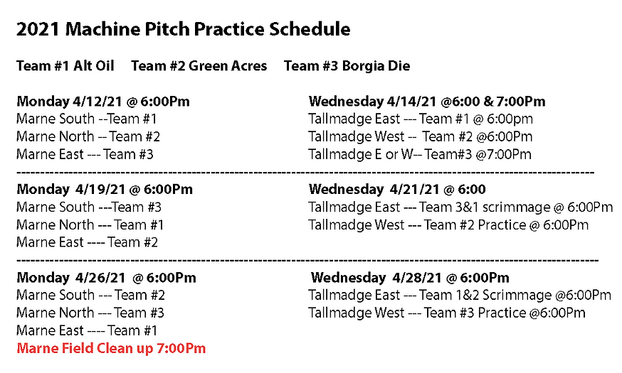 2021 Machine Pitch Practice Schedule.png