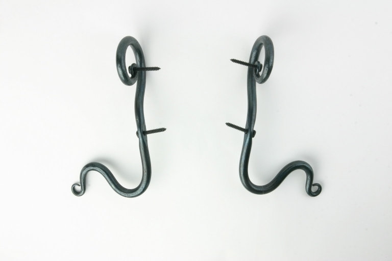 Curtain Rod Holder Curl Position DOWN