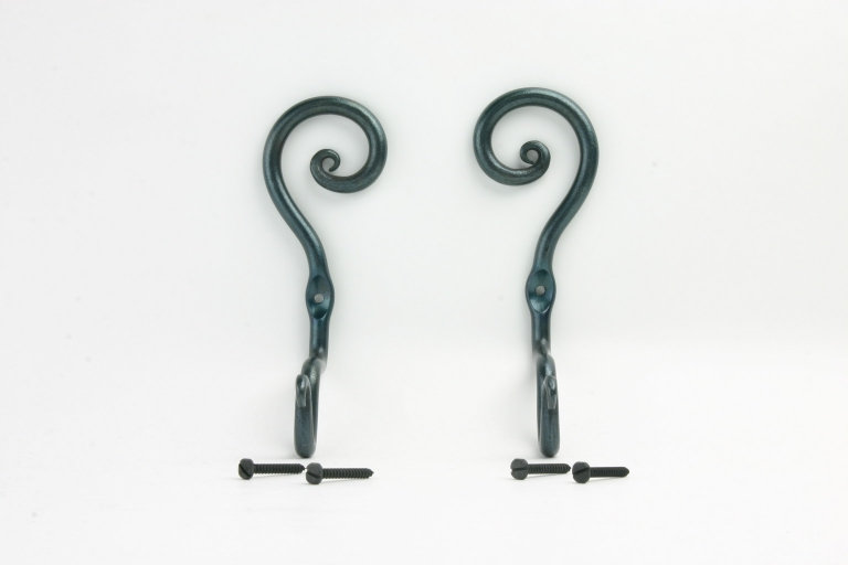 Curtain Rod Holder Curl Position UP