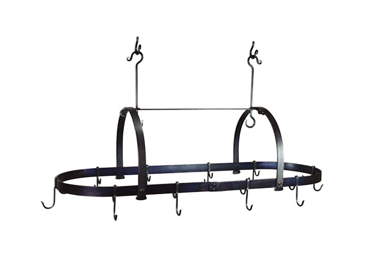 Oval Hanging Pot Rack