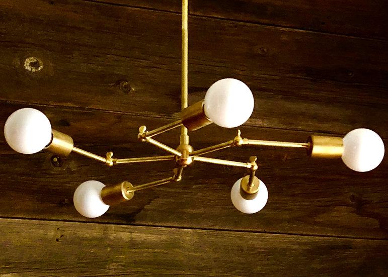Molecular Lamp 5 lights swivel