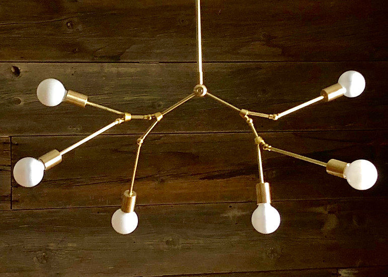 Molecular Lamp 6 lights branch