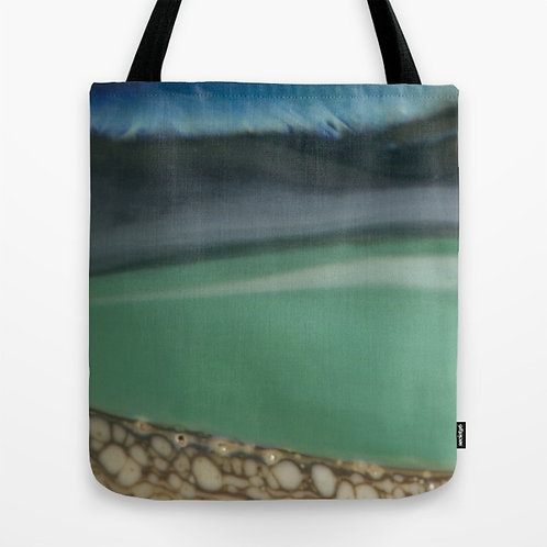 Beach Glass Art Tote Bag