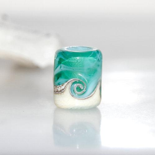 wave dread bead