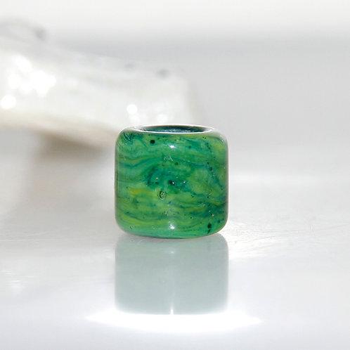 green dread bead