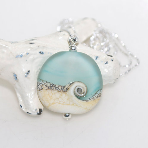 Satin Beach Swirl Necklace