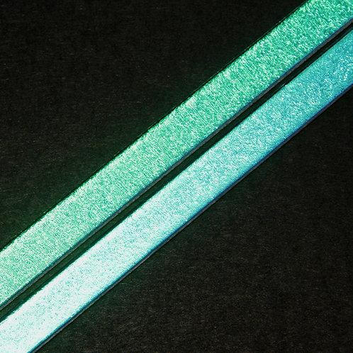 33COE Green Dichroic Glass Strip