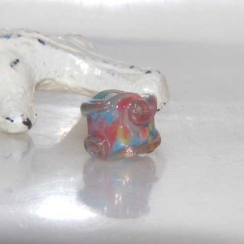 Party Sprinkle Glass Dread Bead