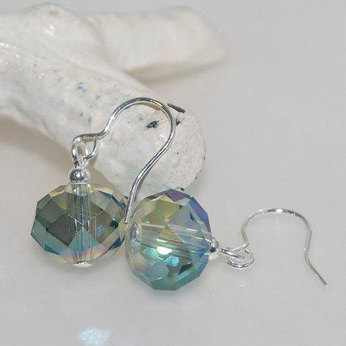 Light Lustre Green Earrings