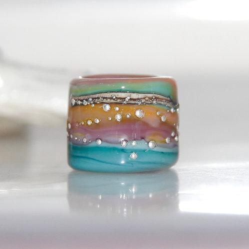 Glass Dreadlock beads