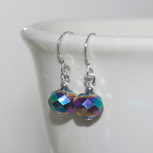 Little Metallic Rainbow Earrings