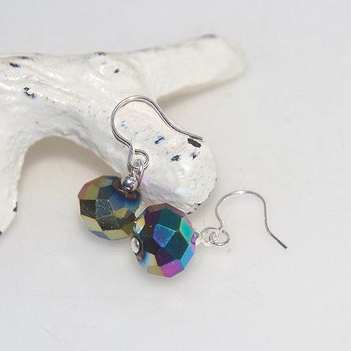 Metallic Rainbow Earrings