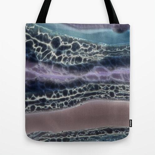Dark Texture Tote Bag Medium
