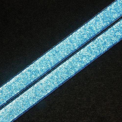 33COE Aqua Blue Dichroic Glass Strip