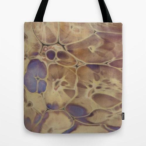 Neutral Reaction Glass Art Tote Bag