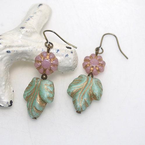 Elegant Garden Drop Earrings