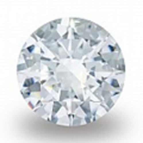 Clear 2.5mm Cubic Zirconia